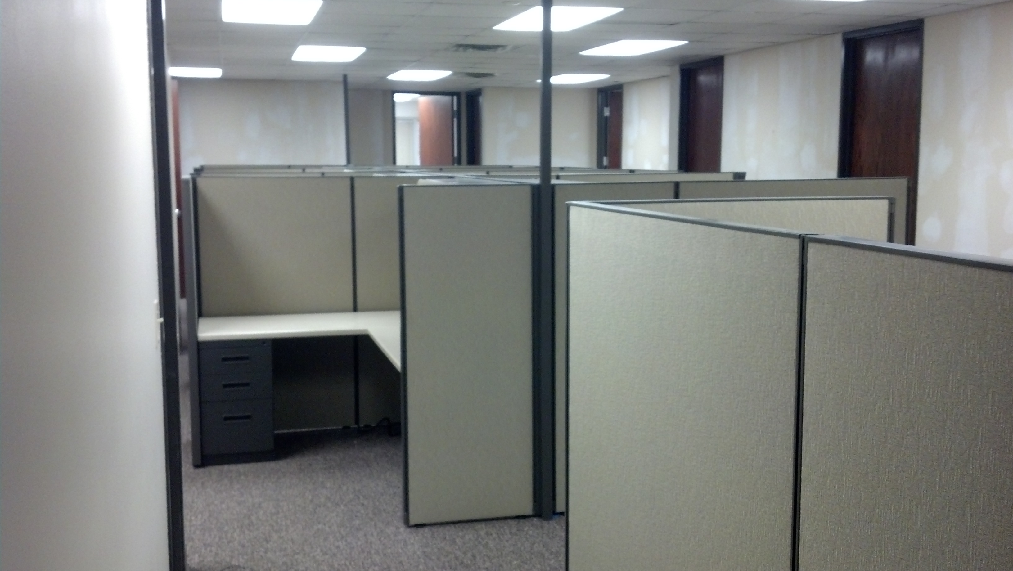 Herman Miller AO1 Tall Wall Workstations