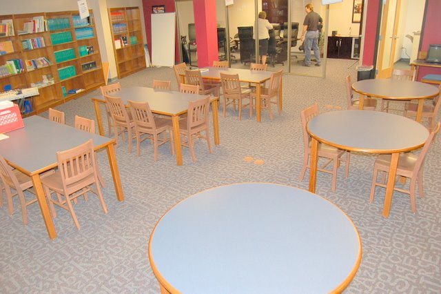 Library Desks and Chairs