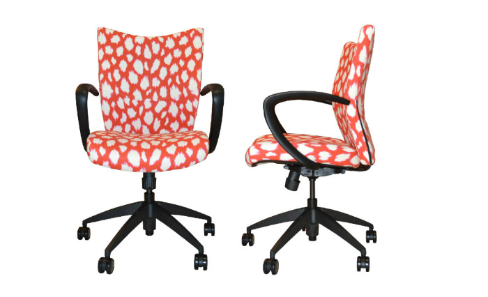 Office Chairs Upholstered Desk Custom Cute Leather Unique