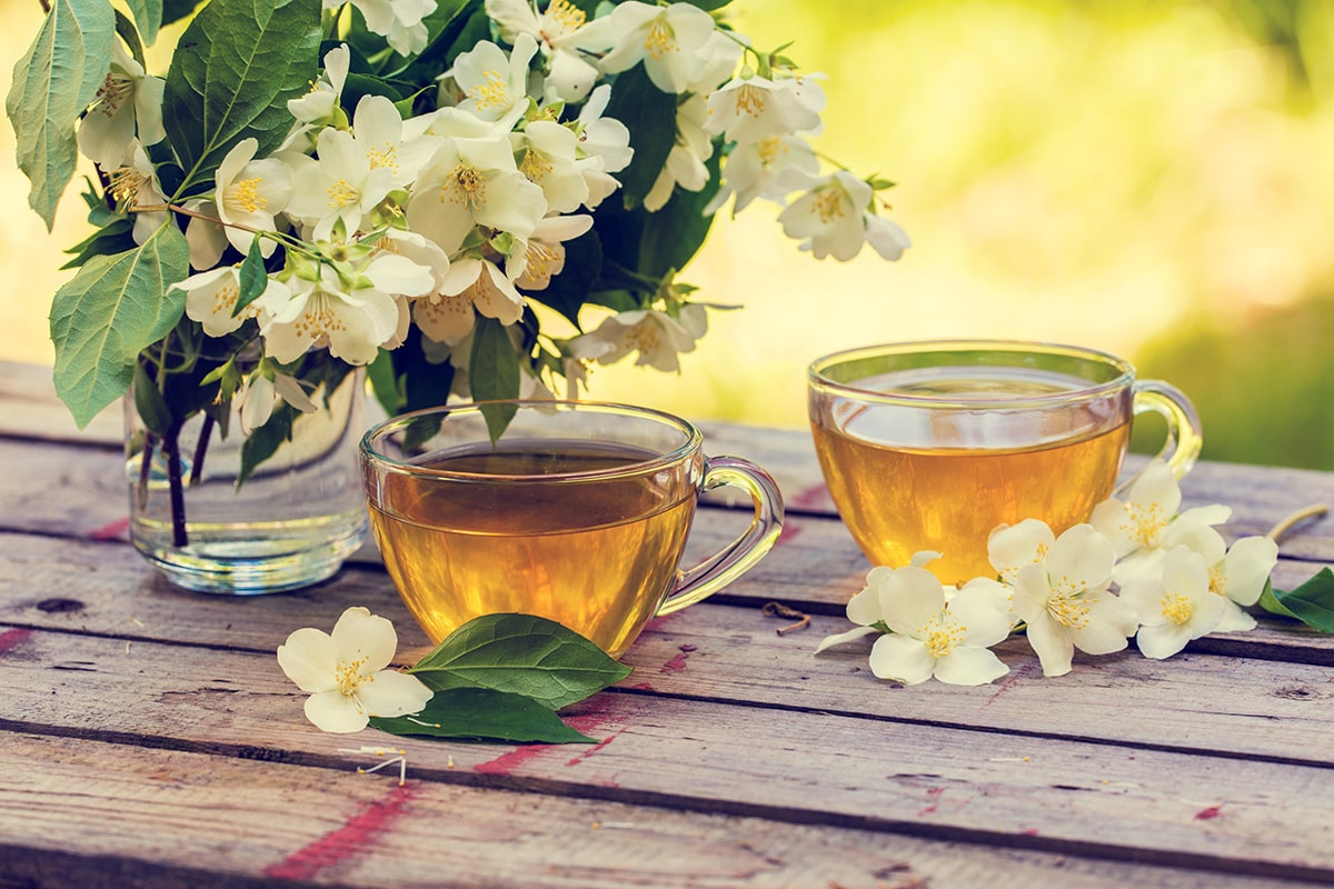 Green tea polyphenols have been proven to revitalize and rejuvenate skin.