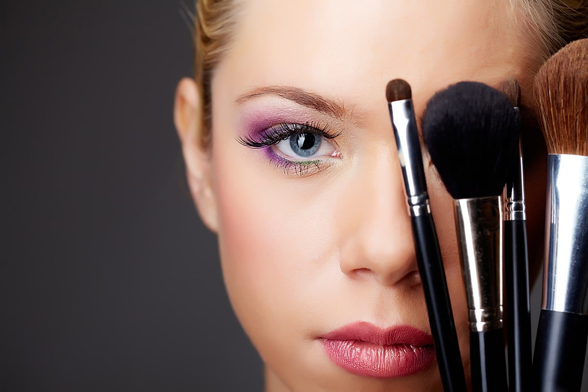 You can take makeup off using Mircella Water.