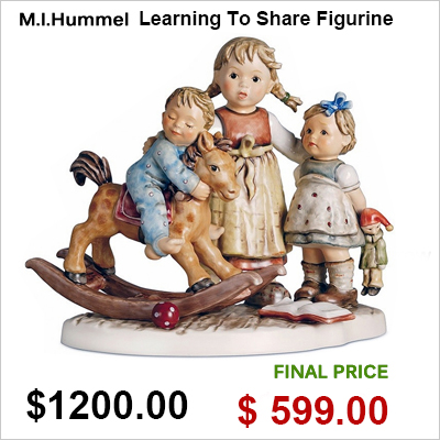 M.I.Hummel Learning To Share Figurine