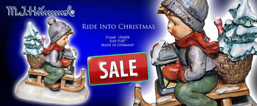 M.I.Hummel Ride Into Christmas Figurine