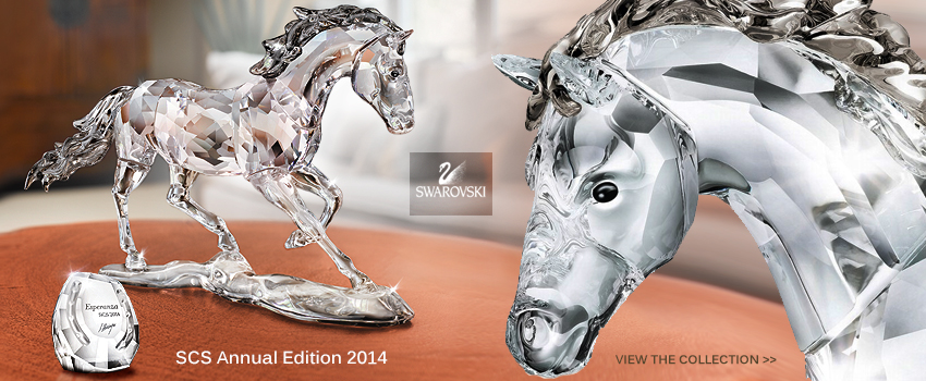 Swarovski SCS Annual Edition Horse Esperanza 2014 SWAROVSKI CRYSTAL SOCIETY COLLECTION