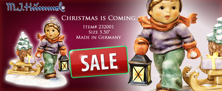 232001M.I. Hummel Christmas is Coming Figurine