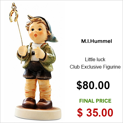 M.I.Hummel Little luck Club Exclusive Figurine
