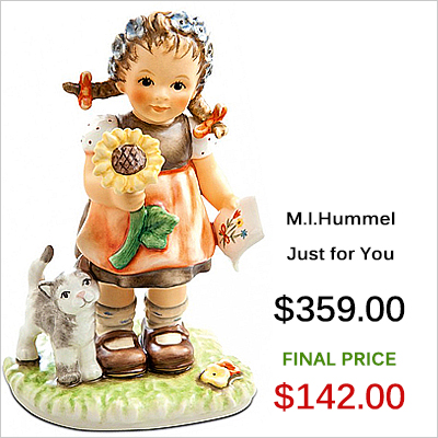 232308 M.I. Hummel Just for You Figurine