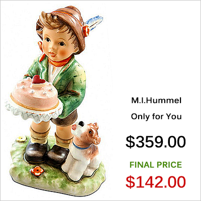 232309 M.I. Hummel Only for You Figurine