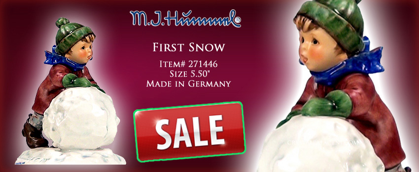 M.I. Hummel First Snow