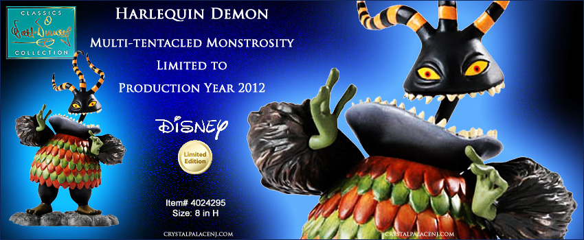 WDCC DISNEY Harlequin Demon Multi-tentacled Monstrosity