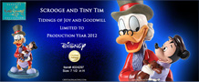 WDCC DISNEY Scrooge and Tiny Tim