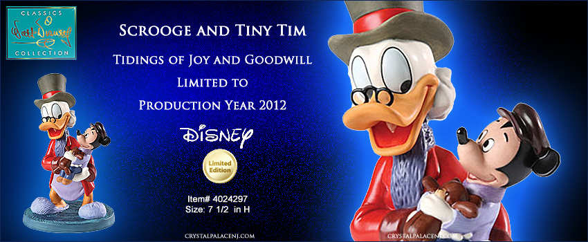 WDCC Scrooge and Tiny Tim