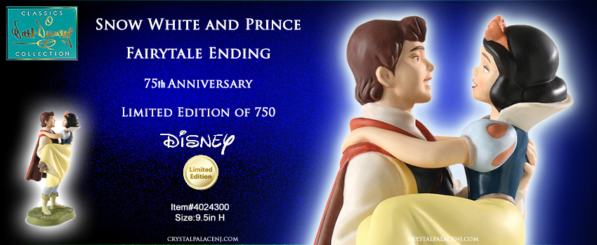 WDCC Snow White and Prince Fairytale Ending
