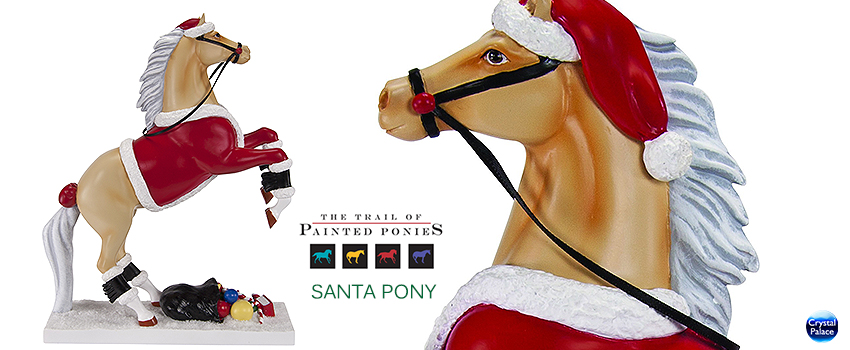 The Trail of Painted Ponies Santa Pony