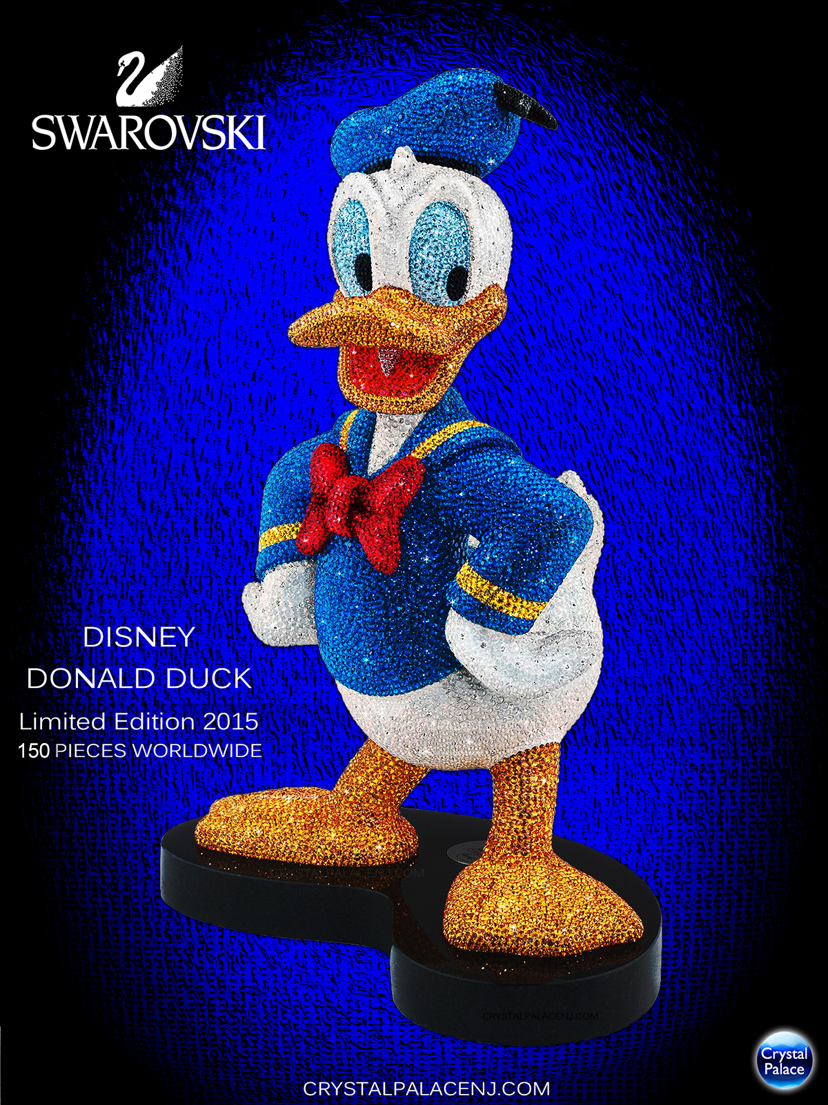 Swarovski Disney Donald Duck Limited Edition 2015