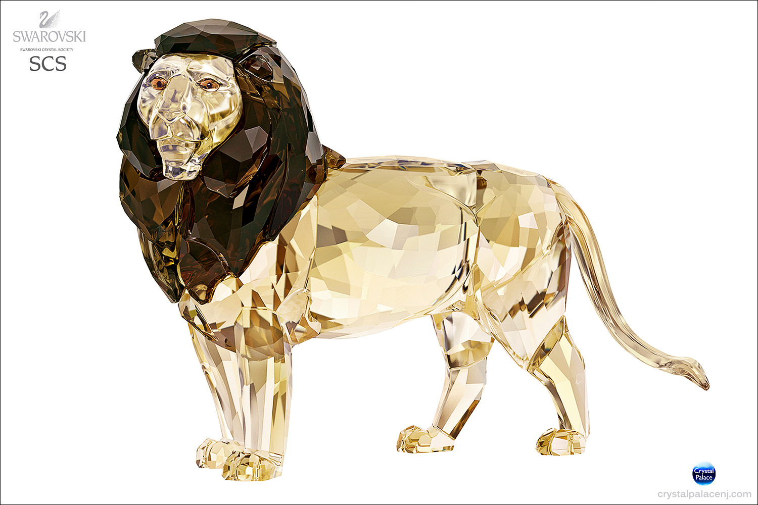 Swarovski Crystal SCS Annual Edition 2016 Lion Akili
