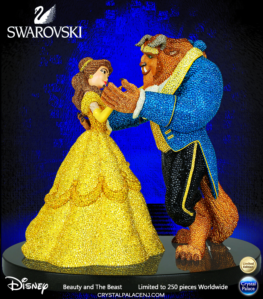 5232184 Swarovski crystal myriad disney beauty and the beast limited edition 2017