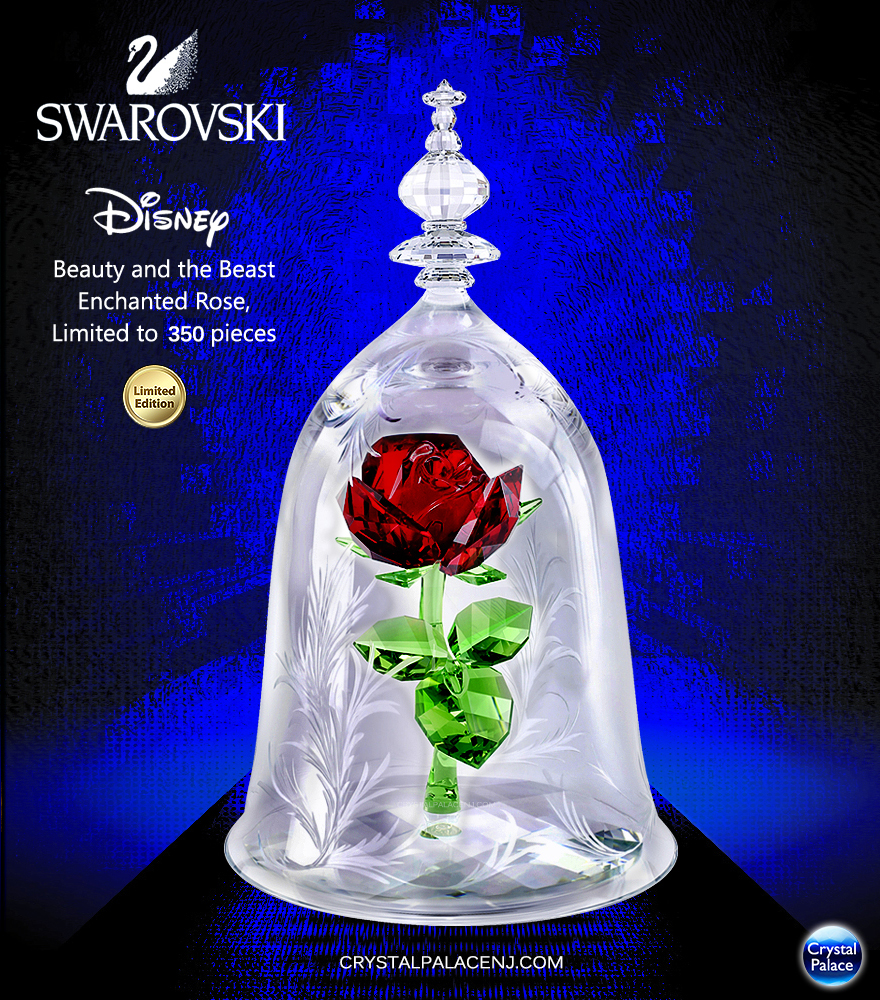 Swarovski Disney Beauty And The Beast Enchanted Rose Limited Edition 2017