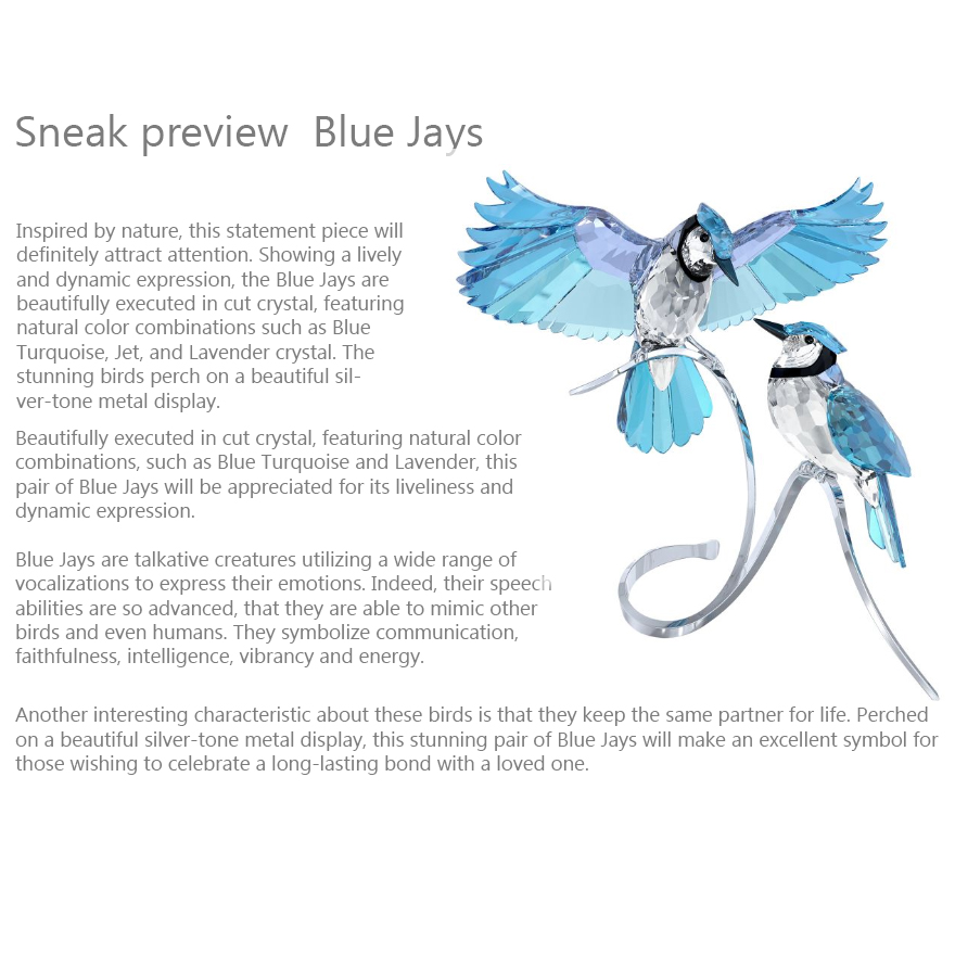 Swarovski Blue Jays 2013