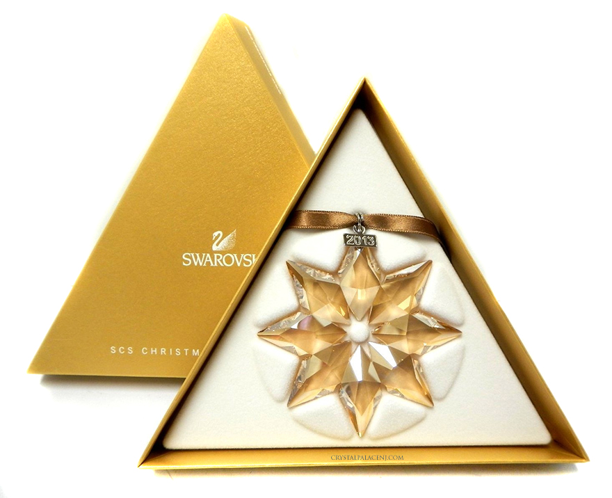 Swarovski SCS Christmas Ornament 2013