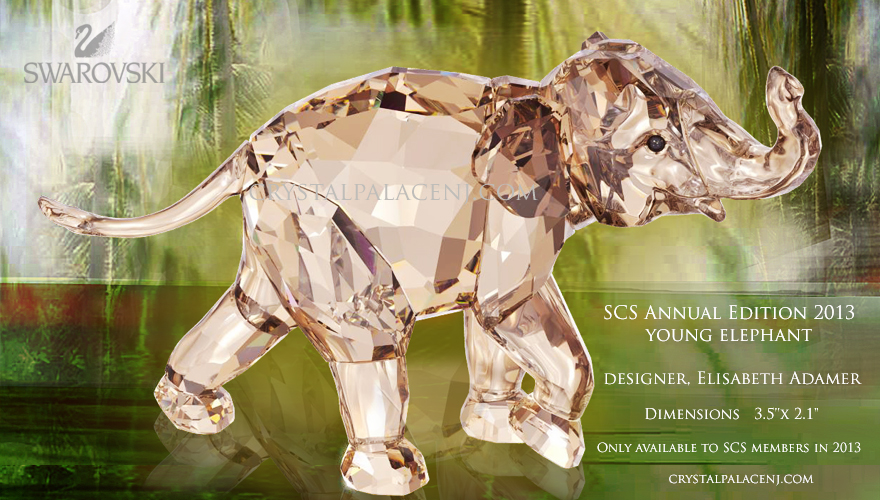 Swarovski SCS 2013-Annual Edition young  Elephant