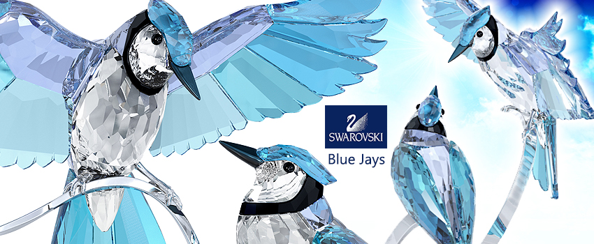 Swarovski crystal Blue Jays 2013