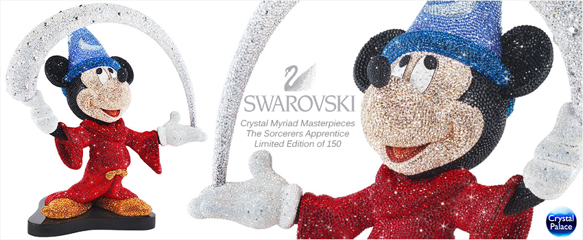 Swarovski Myriad Disney Mickey Mouse The-Sorcerers Apprentice LE 2014