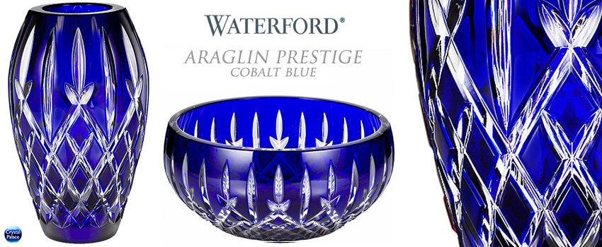 Waterford Araglin Prestige Cobalt Blue