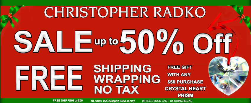 SALE UP TO 50% OFF Christopher Radko Christmas Ornaments