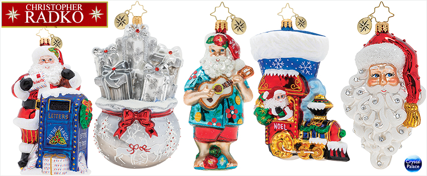 2019 Christopher Radko Christmas Ornaments