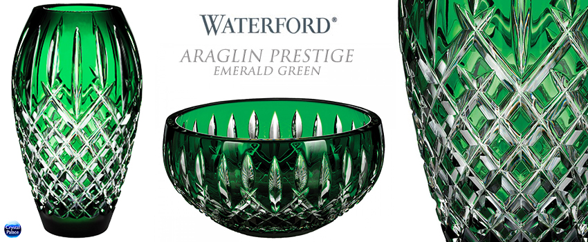 Waterford Araglin Prestige Emerald Green
