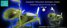 WDCC DISNEY Fairies Summer's Twilight, Autumn's Dawn