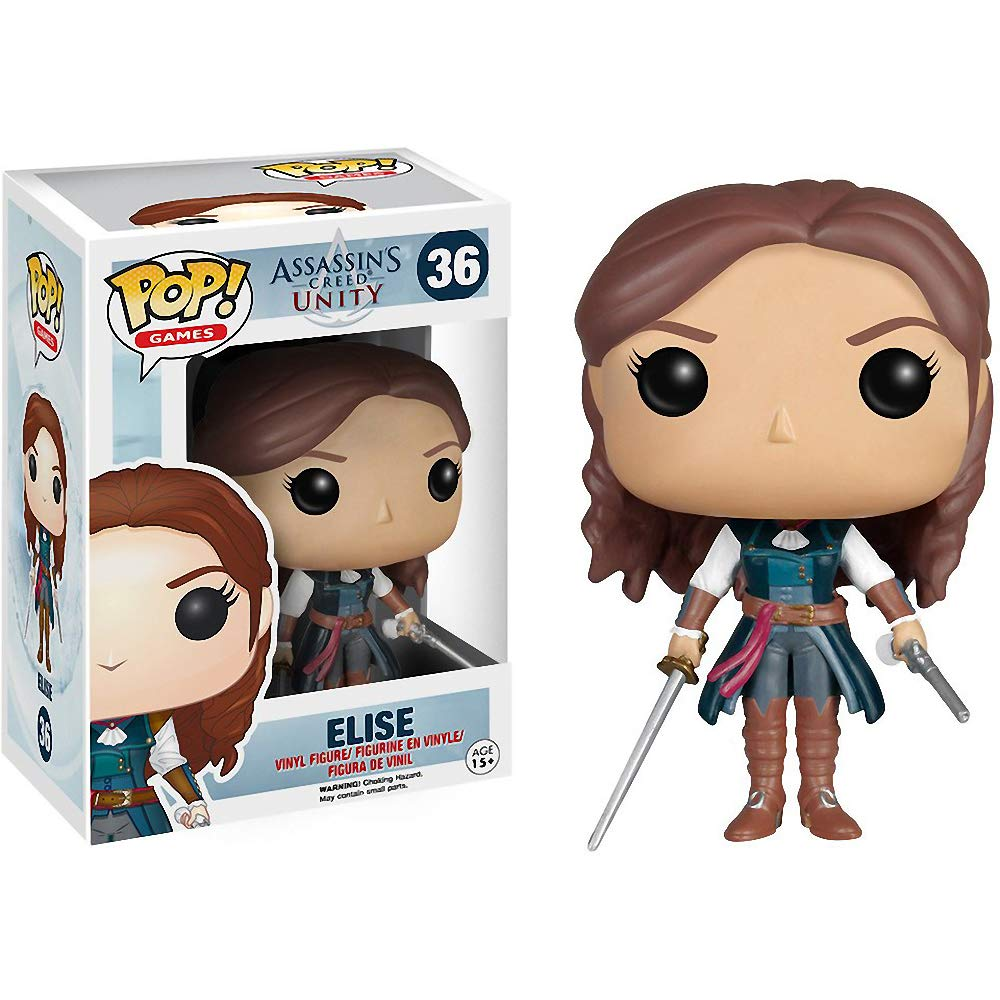 Assassins Creed Unity Elise officially licensed Assassins Creed Unity product at B.A. Toys.