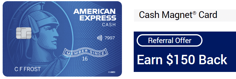 American Express Cash Magnate Credit Card Referral
