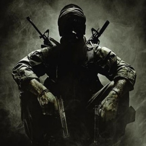Call of Duty Logo, COD Soldier in black and white with curling smoke behind, sitting staring at camera shrouded in shadow, showcasing Mega Bloks Call of Duty, Call of Duty, COD, Call of Duty Halo Construction Sets, COD Mega Bloks, Call of Duty Construx.