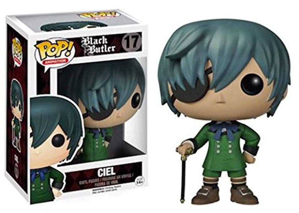 Black Butler Ciel Funko Pop! Anime Vinyl Figure officially licensed product at B.A. Toys.