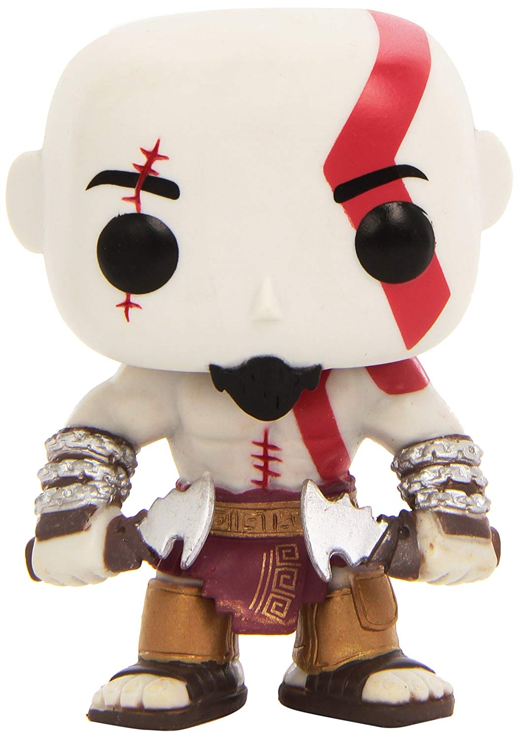 God of War Kratos Funko Pop! Games Vinyl Figure Pre-Order Ships March officially licensed product at B.A. Toys.