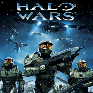 Halo Mega Bloks icon shows three soldiers walking under the Halo Wars logo.