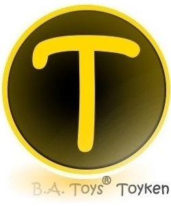 B.A. Toys' Toyken Cryptocurrency Token.