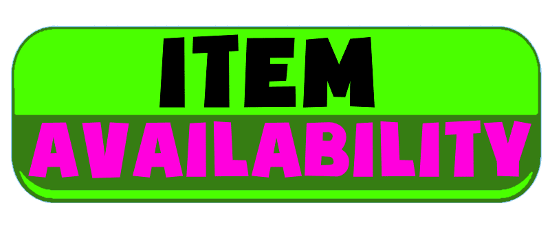 Button to B.A. Toys Product Availability Explanation Section covering Available & In Stock, PreOrder, Special Order, HODL and TOYKEN ITEM.