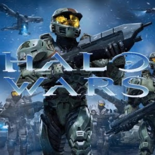 Halo Wars Halo Mega Bloks battle scene featuring construction sets.