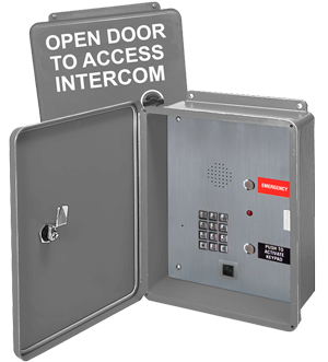 RATH® 976GIPP Access Control Emergency Phone with Camera