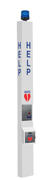 9 ft AED & Emergency Tower