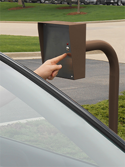Secure Access Curb Mount Gooseneck Phones