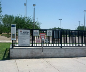 RATH® Call Station at the Arizona Splash Pads, Mesa, AZ