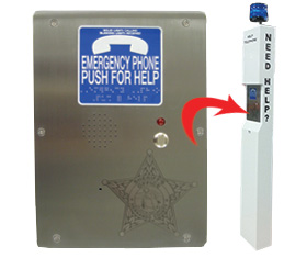 RATH® Pedestal Phones at Hernando County Sheriff's Office, Brooksville, FL