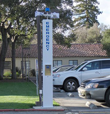 RATH® Towers and Call Stations at Menlo College, Atherton, CA