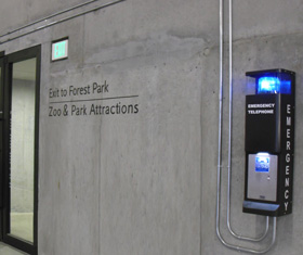 RATH® Call Station at the St. Louis Art Museum, St. Louis