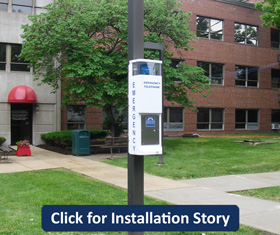 RATH® Call Station at University of Illinois, Rockford, IL