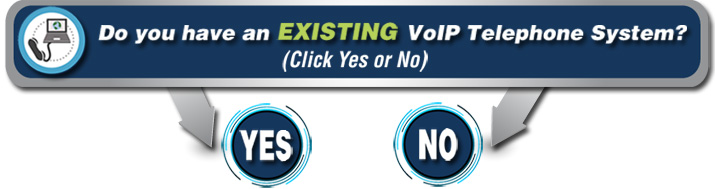 Do You Have an Existing VoIP System? Click Yes or No for details